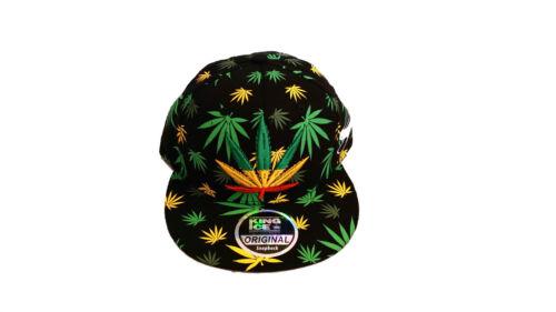 bling cannabis galaxy New Weed snapback caps flat peaks baseball hats mens