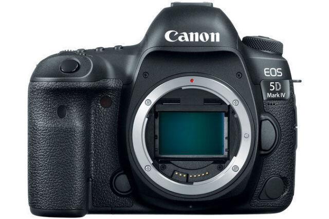Canon EOS 5D Mark IV 30.4MP Digital SLR Camera - Black