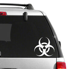 Biohazard Vinyl Sticker Decal BUY 2 GET 1 FREE Choose Size & Color