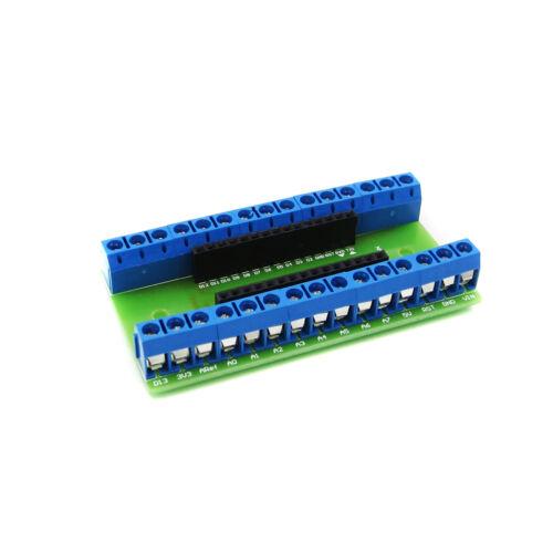 Nano Terminal Adapter the Arduino Nano V3.0 AVR ATMEGA328P-AU Module Board UK