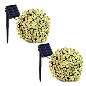 Solar-String-Fairy-Lights-72-Feet-200led-Outdoor-Garden-Patio-Waterproof-2-Pack