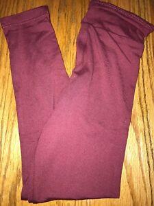 LuLaRoe Kids Leggings S//M Small Medium Purple Green Design