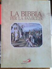 LA BIBBIA PER LA FAMIGLIA Ravasi 1994 SAN PAOLO cristiana LEVITICO NUMERI GIOSUE