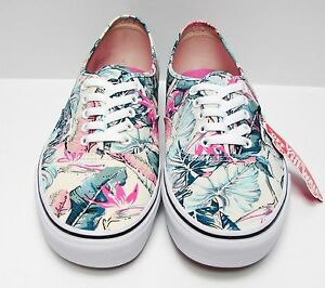 Details about Vans Authentic Tropical Multi True White VN0003B9IKP Kid's Size: 3.5