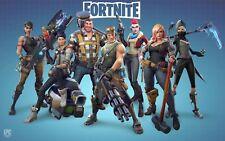 Poster A3 Videogame Videojuego Fortnite Battle Royale Cartel 06