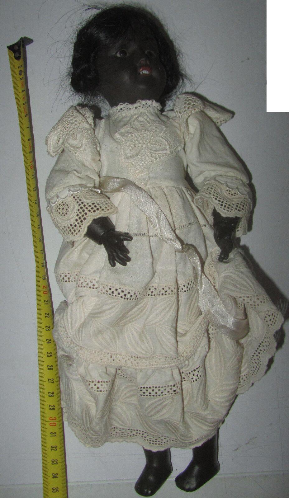 Bambola Antica Recknagel 1914 DEP R7oA Geruomoy circa 35cm bambola poupè