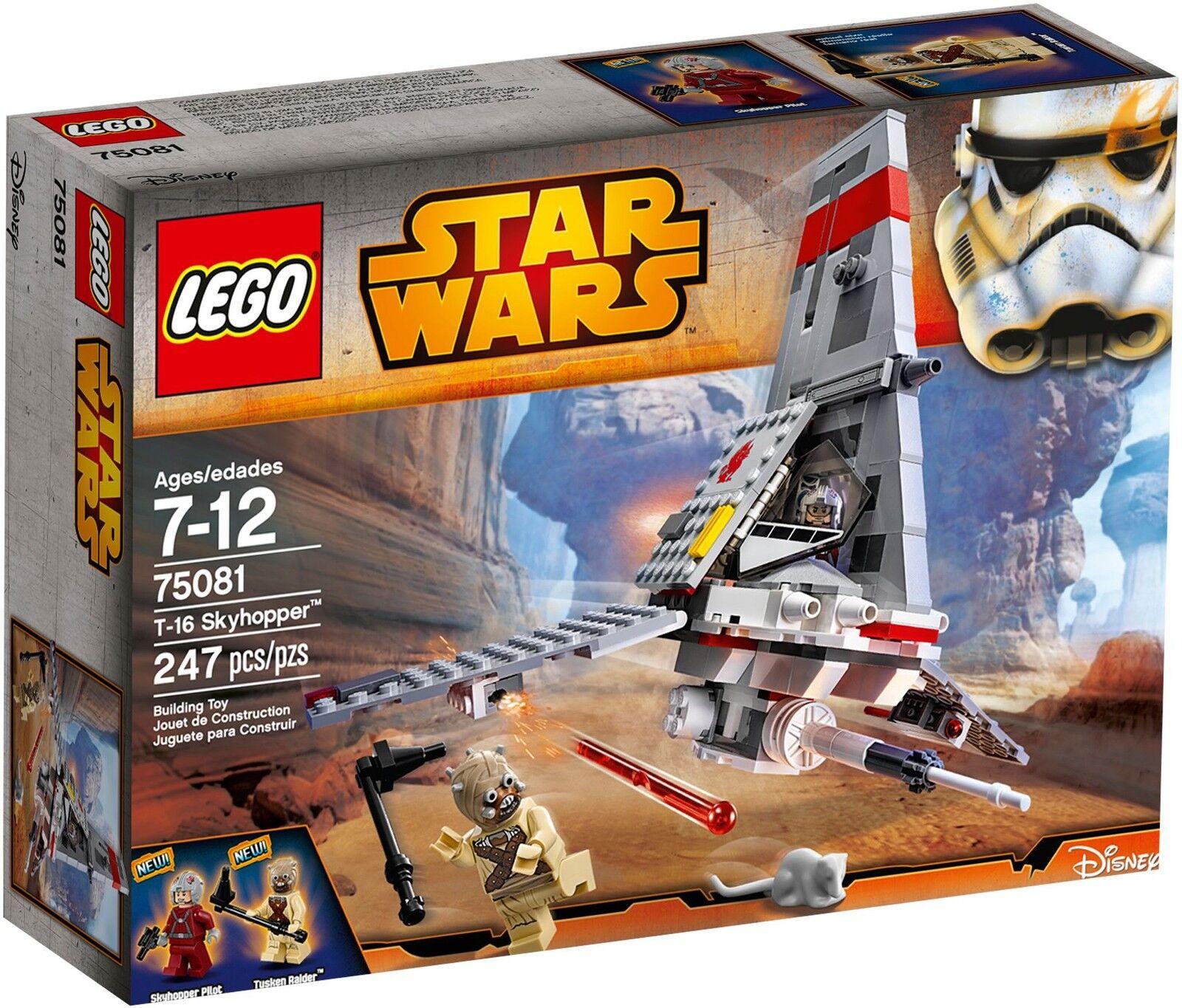 negozio all'ingrosso LEGO Estrella Estrella Estrella Guerras - 75081 t-16 cieloHOPPER con Tusken Raider-NUOVO & OVP  grandi offerte