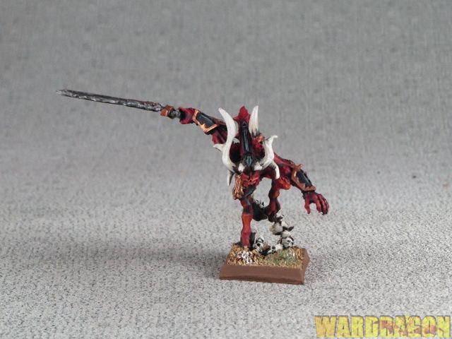 25mm Warhammer WDS painted Daemons of Chaos Herald of Khorne j25