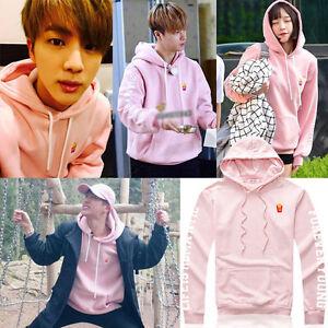 Kpop-BTS-JIN-Sweat-a-capuche-Hoodie-Chandail-Bangtan-Boys-Pullover-Sweatershirt