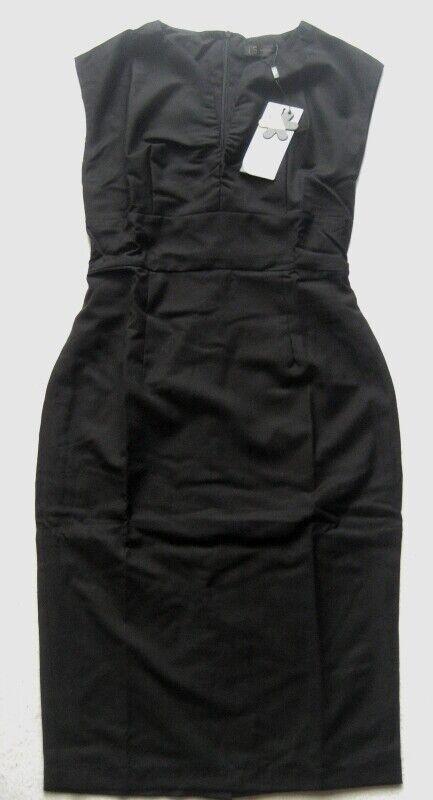 THREE SEASONS Damenkleid in Schwarz Gr. M Schwarz