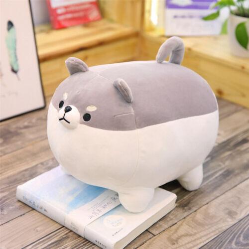 50cm Cute Fat Shiba Inu Dog Plush Toys Stuffed Soft Kawaii Animal Cartoon Pillow