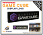 NINTENDO-GAME-CUBE-Display-Logo-pour-Collection-de-jeux-videos-Retro-Gaming miniature 1