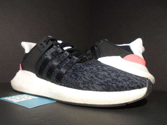 ADIDAS EQT SUPPORT 93/17 CORE BLACK TURBO PINK WHITE ULTRA BOOST BB1234 NMD 11