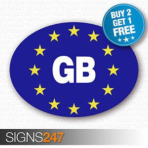 GB-CAR-STICKERS-BLUE-Oval-Euro-Car-Van-Lorry-Vinyl-Blue-Self-Adhesive-EU-sticker