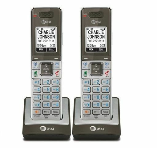 2 x AT&T CLP99003 Connect-to-Cell DECT 6.0 Handset for CLP99583, CLP99553