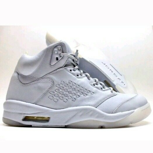 NIKE AIR JORDAN 5 RETRO PREM PUNNACLE PURE PLATINUM SIZE Uomo 14