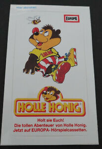 Fan-Aufkleber Holle Honey Der Radio Play Bear Europa Cassettes 80er