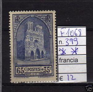 FRANCOBOLLI-FRANCIA-NUOVI-N-399-F1068