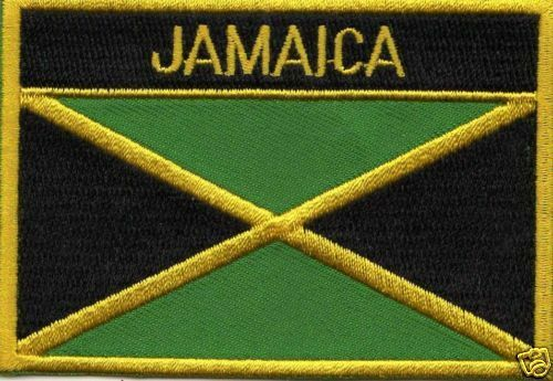 JAMAICA IRON ON FLAG  PATCH  buy 2 get 1 free