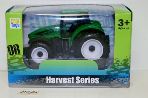 Totally Cool Toys Harvest Series Toy Farm Tractor Plastic NIB