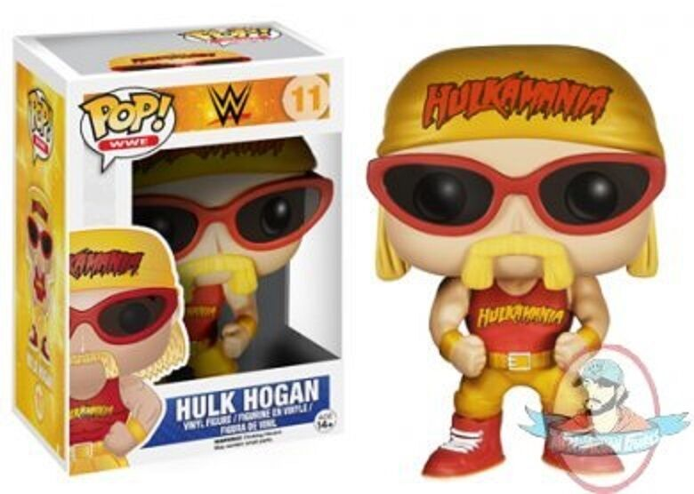 Pop  WWE Series 2 Hulk Hogan Vinyl Figure by Funko