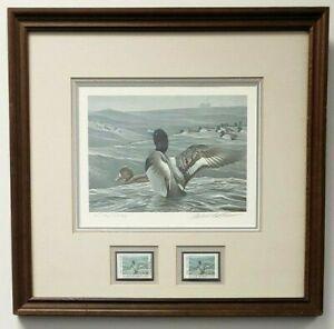 Robert Bateman 1989 NY Migratory Bird Duck Stamp Signed Limited Edition Print