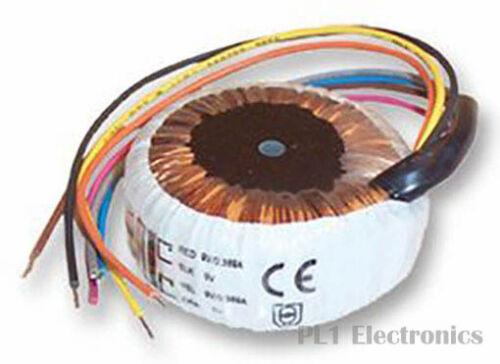 24mm x 43mm 229 3.2 va Multicomp MCFM 32//07 toroïdal transformateur 2 x 7V