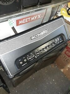 Acoustic Lead Guitar Series G120H DSP 120W Guitar Amp Head barely used