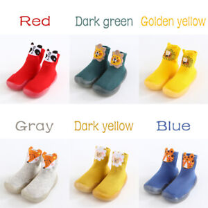 Baby Shoes Toddler Walker Girl Boy Kids Soft Rubber Sole Baby Anti-Slip Boots
