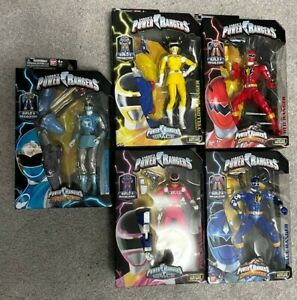 Power Rangers Legacy Collection Lot Dino Thunder , In Space & Ninja Storm