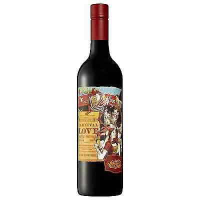 Mollydooker Carnival of Love Shiraz case of 6 Dry Red Wine 750mL McLaren Vale