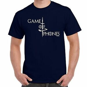 Mens Funny Sayings Slogans T Shirts-Game Of Phones-game Thrones ...