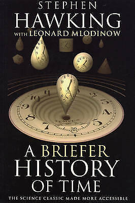 1 of 1 - A Briefer History of Time by Stephen Hawking, Leonard Mlodinow (Paperback, 2008)