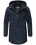Weeds-senores-chaqueta-invierno-larga-chaqueta-Parka-abrigo-forro-calido-manakaa miniatura 16
