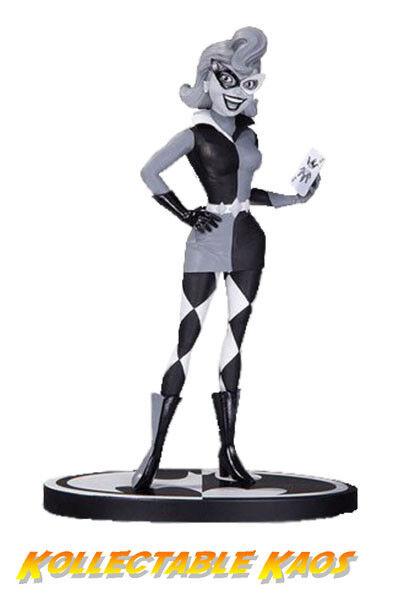 Batman-Harley Quinn Negro y blancoo 7  estatua por Paul Dini