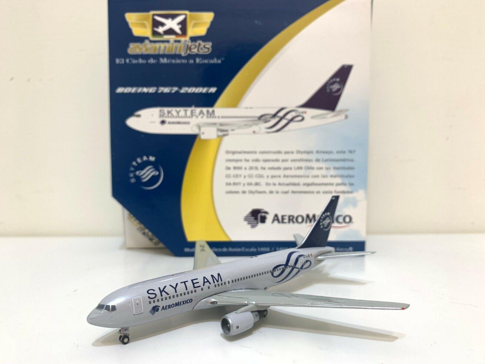 RARE Aviaminijets 1 400 AeroMexico Boeing B767-200ER  SkyTeam  XA-JBC