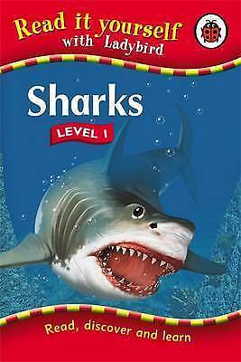 Read It Yourself Level 1: Sharks by Ladybird, Acceptable Book (Hardcover) FREE &