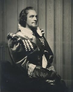 Actor A Identificar Francia Forro Germaine Roger Foto Lipnitzki París Vintage