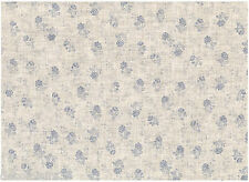 Tissu 100 % Lin - Patchwork, Cartonnage, Sac, Deco - Vendu par 20 cm - Roses