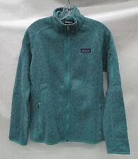 Patagonia Womens Better Sweater Fleece Jacket 25542 Mogul Blue Size Medium