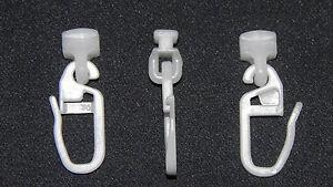 20 vorhang gardinen 3533 gleiter haken f r wohnwagen wohnmobil ebay. Black Bedroom Furniture Sets. Home Design Ideas