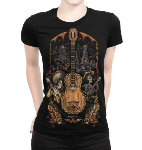 Coco Original Art T-Shirt Disney Cartoon Tee Men/'s Women/'s All Sizes