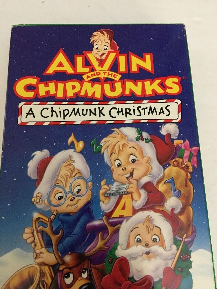 Alvin and the Chipmunks - A Chipmunk Christmas (VHS, 1992)   eBay