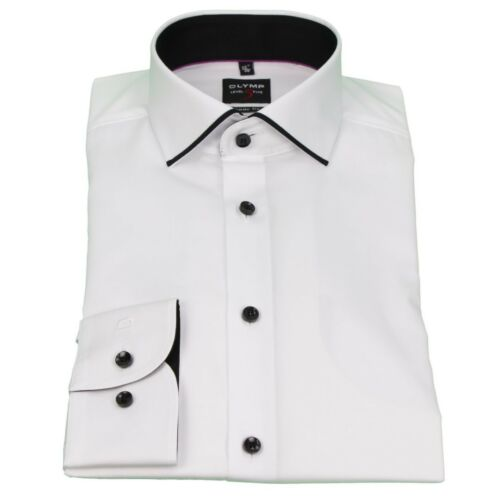 Olymp Uomo Body Fit Camicia level 5 BIANCO TINTA 2043 84 00