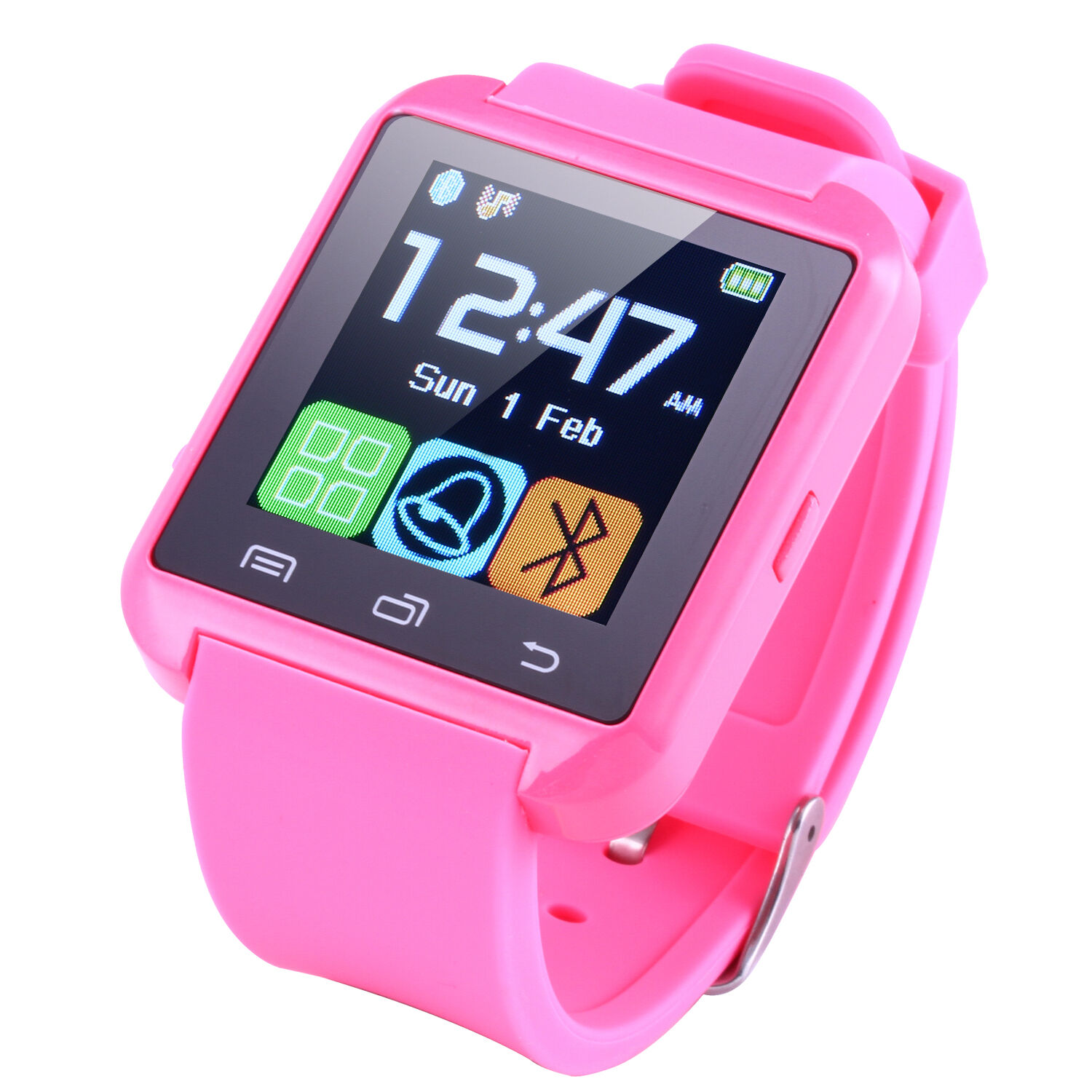 Bluetooth Smart Watch Wrist Watches For iOS iPhone Android ...