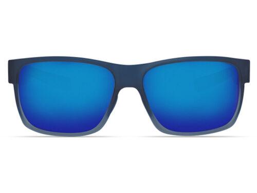 1ce245df83 1 of 6FREE Shipping NEW Costa Del Mar HALF MOON Bahama Blue Fade   580 Blue  Mirror Plastic 580P