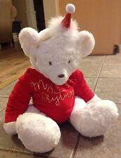 5fa1b18676b64 item 7 NWT Mud Pie Pregnant Bear Plush Stuffed My First Christmas Sleeper    Hat 3-6 Mos -NWT Mud Pie Pregnant Bear Plush Stuffed My First Christmas  Sleeper ...