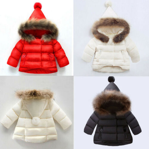 Children Baby Girls Boys Kids Jacket Coat Colorful Winter Warm Children Clothes