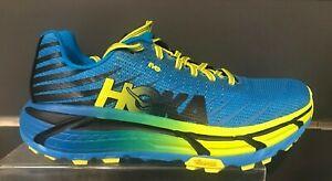 HOKA-ONE-ONE-Men-039-s-EVO-MAFATE-Running-Shoe-CYAN-CITRUS