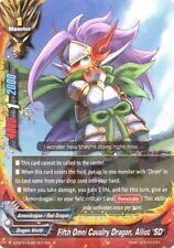 Dragonic Kaiser Nova CP01//0006 RRR+SP Near Mint F Buddyfight Dragon Strike Arts